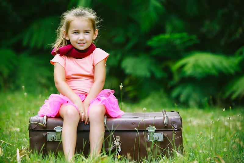 Demana als nens si us volen ajudar a preparar la maleta. Foto: Katsuhito Nojiri - Sydney Treasures Photography