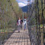 Excursió amb nens per la Cerdanya pel pont palanca a la vall del Segre
