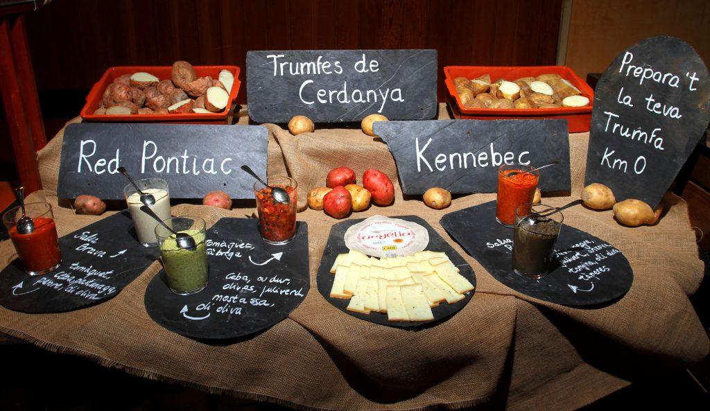 Buffet de trumfes de Cerdanya - Restaurant ARÇ
