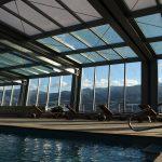 Càmpings i resorts de muntanya amb piscines cobertes climatitzades per anar-hi a l'hivern