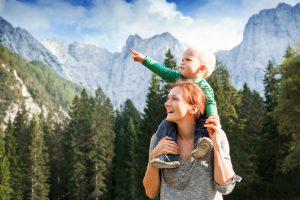 Pirineos con niños