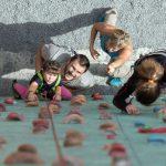 Escalada con niños: diversión en estado puro