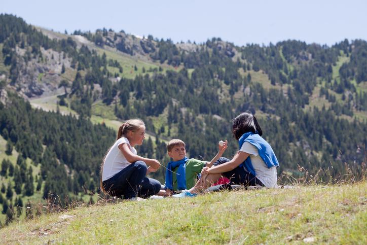 pirineos con niños verano