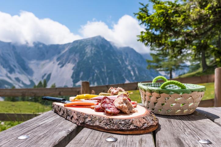 gastronomia montaña
