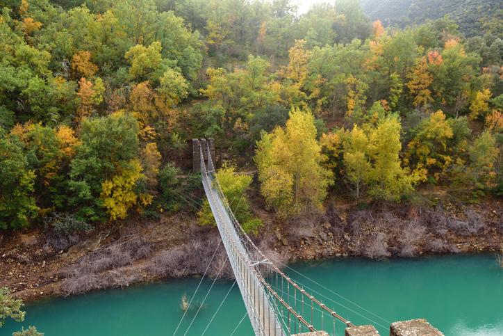 Puente colgante Mont-rebei