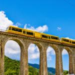 El tren amarillo de los Pirineos: un viaje alucinante
