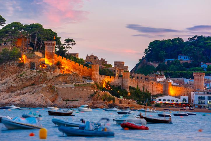 pueblos costeros cataluña - tossa de mar