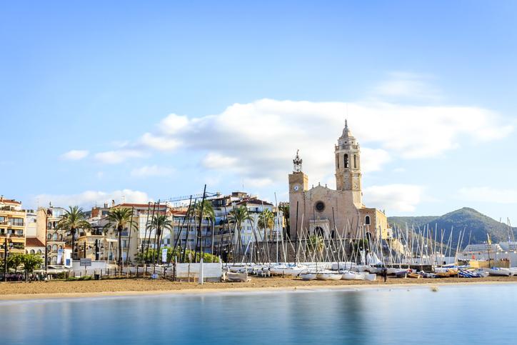 pueblos costeros cataluña - sitges
