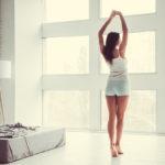 Exercicis per abans d'anar a  dormir: estiraments per a dormir com un tronc