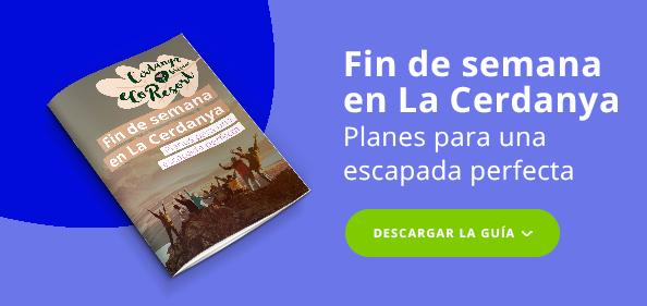 CTA - Imagen post - Ebook fin de semana en La Cerdanya - lila