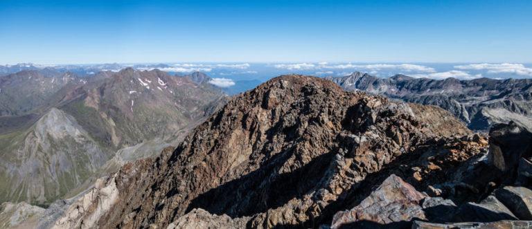 montana mas alta de los pirineos